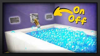 Minecraft - How To Make A Working Bubblebath