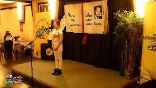 Występy dzieci w Kategorii Specjalnej - II Edycja Konkursu Recytatorskiego Lokomotywy