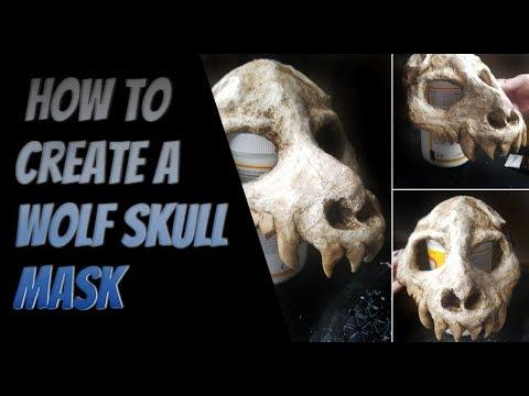 Creating a Wolf/Animal skull Mask