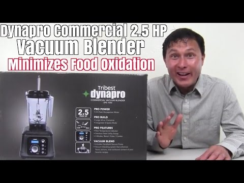 DynaPro 2.5 HP Commercial Vacuum Blender In-Depth Review