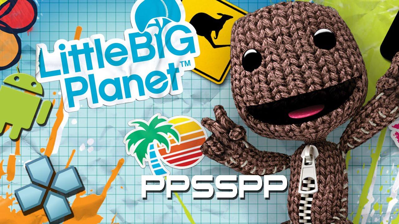 Little big planet скачать 0. 7. 6-624 на psp.