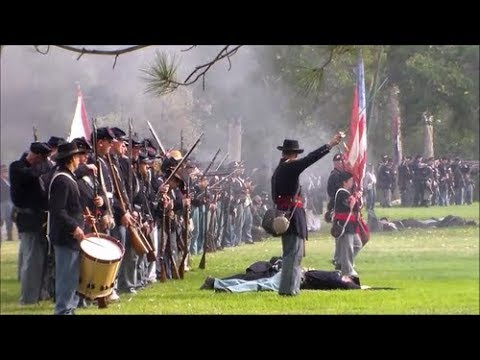 Huntington Beach Civil War reenactment 2017