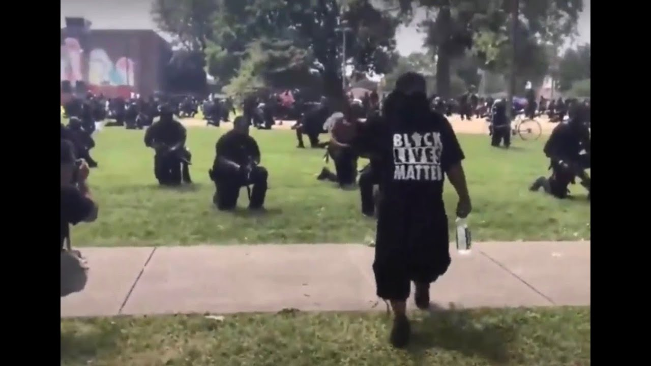 Louisville: Armed NFAC Militia member fires weapon - 3 Injured at BLM Protest in Baxter Park