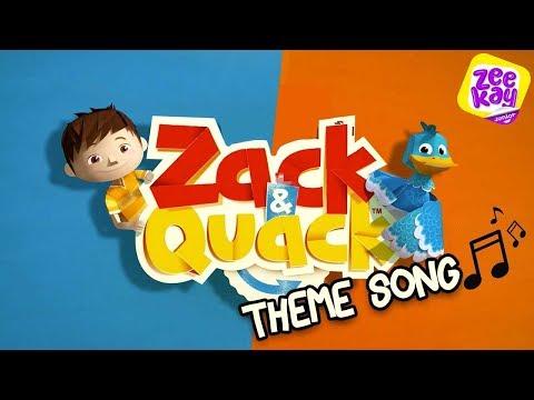 Zack & Quack Theme Song   ZeeKay Junior