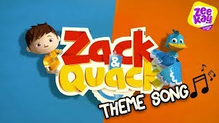 Zack & Quack Theme Song | ZeeKay Junior