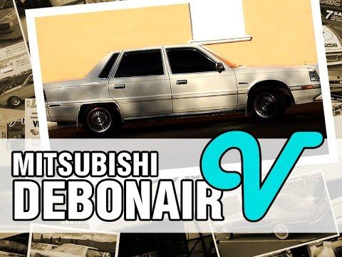 Фото к видео: JDM - Mitsubishi DEBONAIR V, 1988, 6G71, 150 hp - краткий обзор