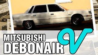 Старый Лакшери ОТ Митцубиси!  - Mitsubishi Debonair V, 1988, 6G71