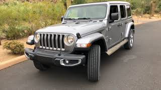 Best Detailed Walkaround 2018 Jeep Wrangler Sahara