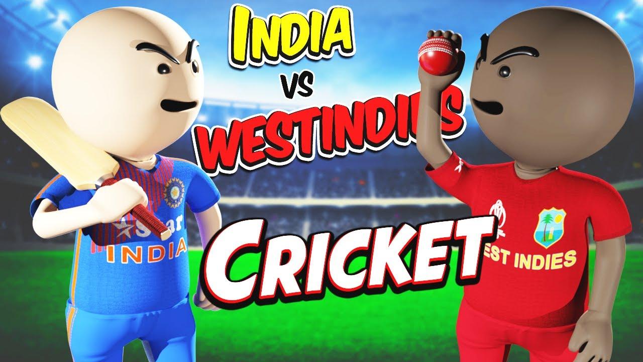 3D ANIM COMEDY - CRICKET INDIA VS WESTINDIES || FULL VIDEO || LAST OVER