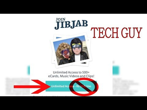 How not to pay in jibjab