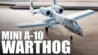 e flite umx a 10 warthog   review
