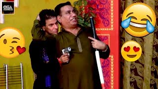 NASIR CHINYOTI in love with TARIQ TEDI - 2019 New Stage Drama Best Comedy Clip ||Very Funny😂