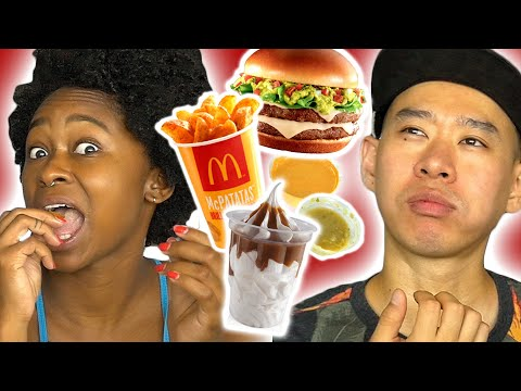 Thumbnail: Americans Try Mexican McDonald's