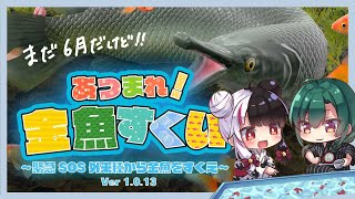 【あつまれ!金魚すくい】夏に向けて特訓開始!【#よるみどり】