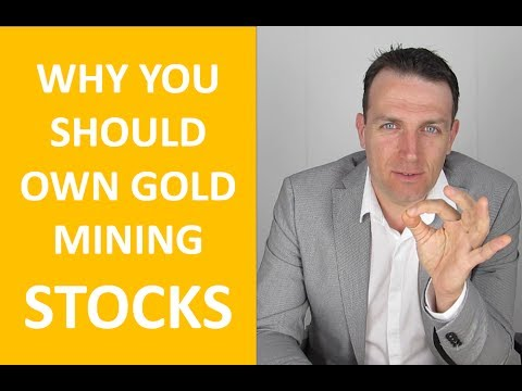 You Should Own Gold Stocks, Not Gold!