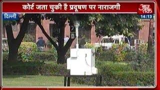 SC Fixes Machines to Monitor Delhi Pollution