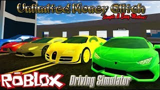 Easy Unlimited Free Money Glitch! - Roblox Driving Simulator
