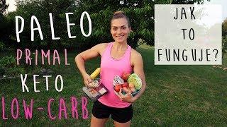 PALEO - PRIMAL - LOW CARB - KETO - typy diet a jak fungují (a co si z nich odnést)
