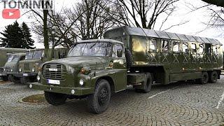 CviДЌenГ ЕЎtГt 2020   Lidice   Sraz vojenskГЅch aut Tatra 148  805Gaz 66 Praga v3s