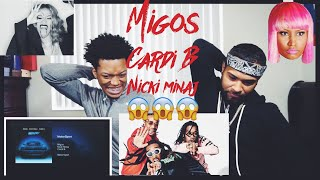 Migos - MotorSport (feat. Nicki Minaj & Cardi B)|FVO Reaction