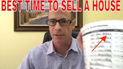 When Is The Best Time To Sell My House ?