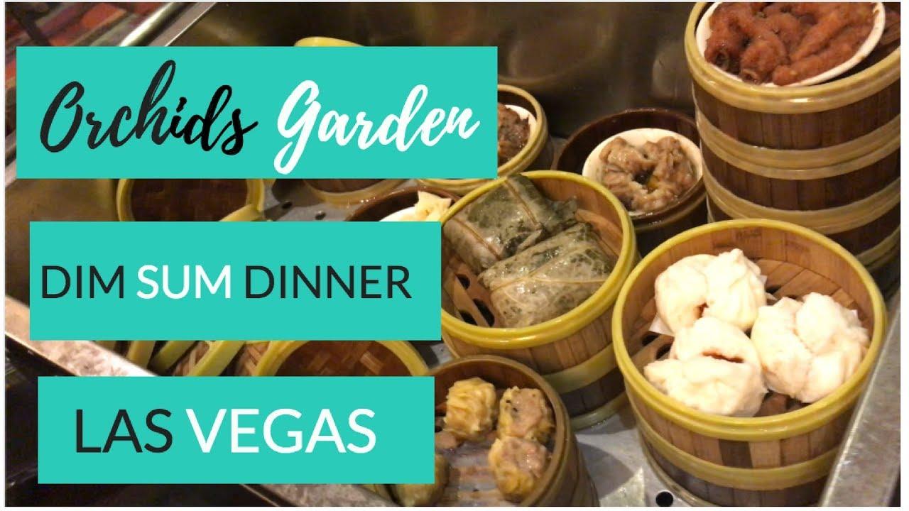 Dim Sum Dinner - Orchids Garden Las Vegas - YouTube