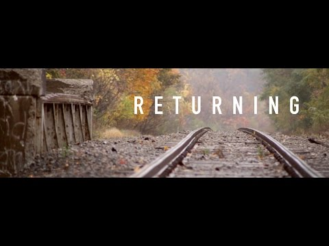 RETURNING - a visual poem