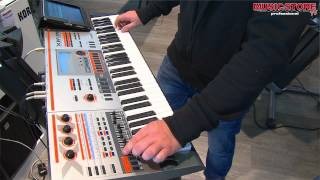 CASIO XW-P1 Synthesizer Workshop Demo @ Music Store