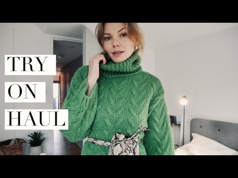 Autumn Winter Try On Haul: MANGO,H&M, Balenciaga, Massimo Dutti thumbnail