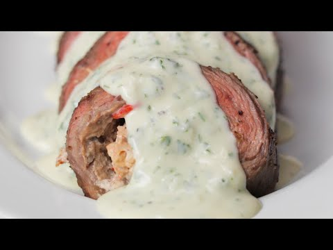 Surf and Turf Steak Roll Up •Tasty