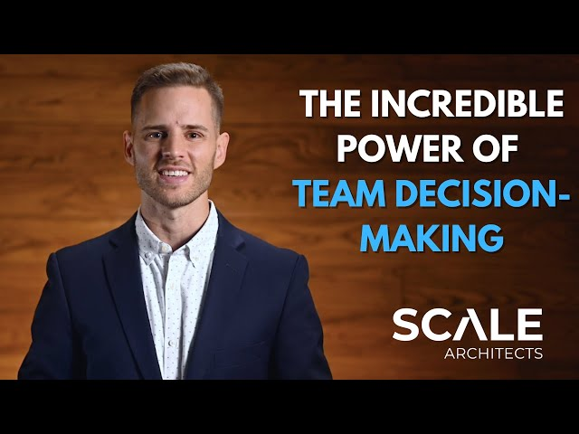 The incredible power of team based decision making