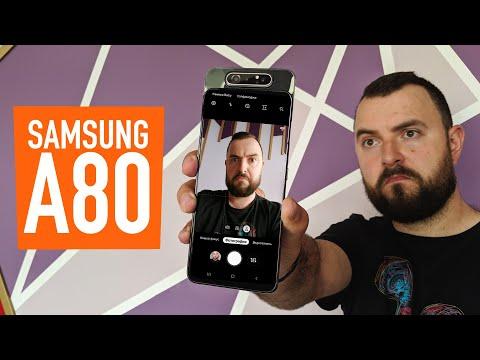 Обзор Samsung Galaxy A80. Плюсы и минусы