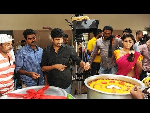 Thani Oruvan Shooting Spot Exclusive Video | Jayam Ravi | Nayanthara
