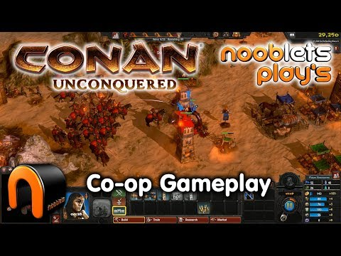 CONAN UNCONQUERED Co-op Game Play - Nooblets Plays