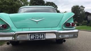 Chevrolet biscayne 1958 startup