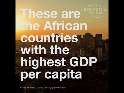 Africa  Highest GDP per capita