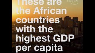 Africa  Highest GDP per capita