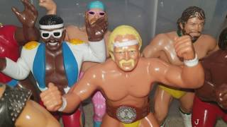80's LJN WWF / WWE Rubber Wrestling Figures Collection