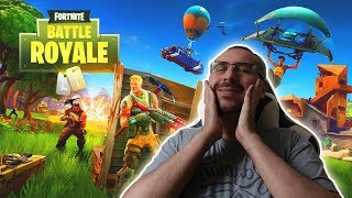 A Noob Discovers Fortnite: Battle Royale (Free GAME PS4, PC - XBOX ONE)