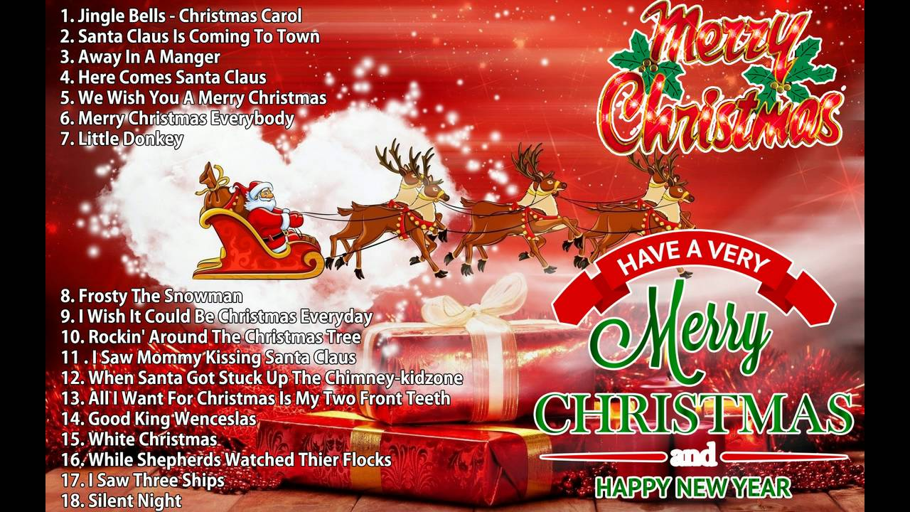 top 20 christmas songs of all time merry christmas and happy new year 2017 - Top 20 Christmas Songs