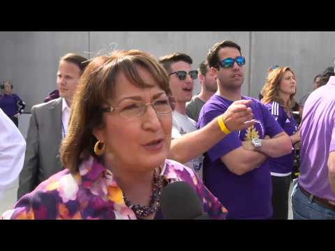 Orlando City Lions' Inaugural Game