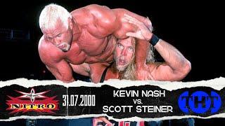 Scott Steiner vs Kevin Nash (Straighjacket Match) 31/07/00