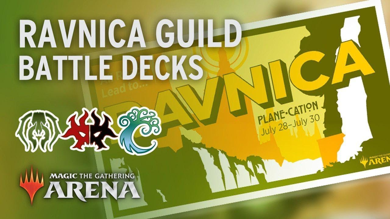 Repeat Ravnica Guild Battle Decks | Golgari, Rakdos & Simic