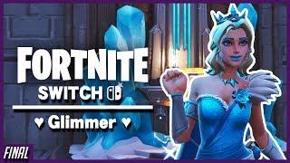 "Winning w/Glimmer ""Elsa"" Skin! | Fortnite Nintendo Switch"