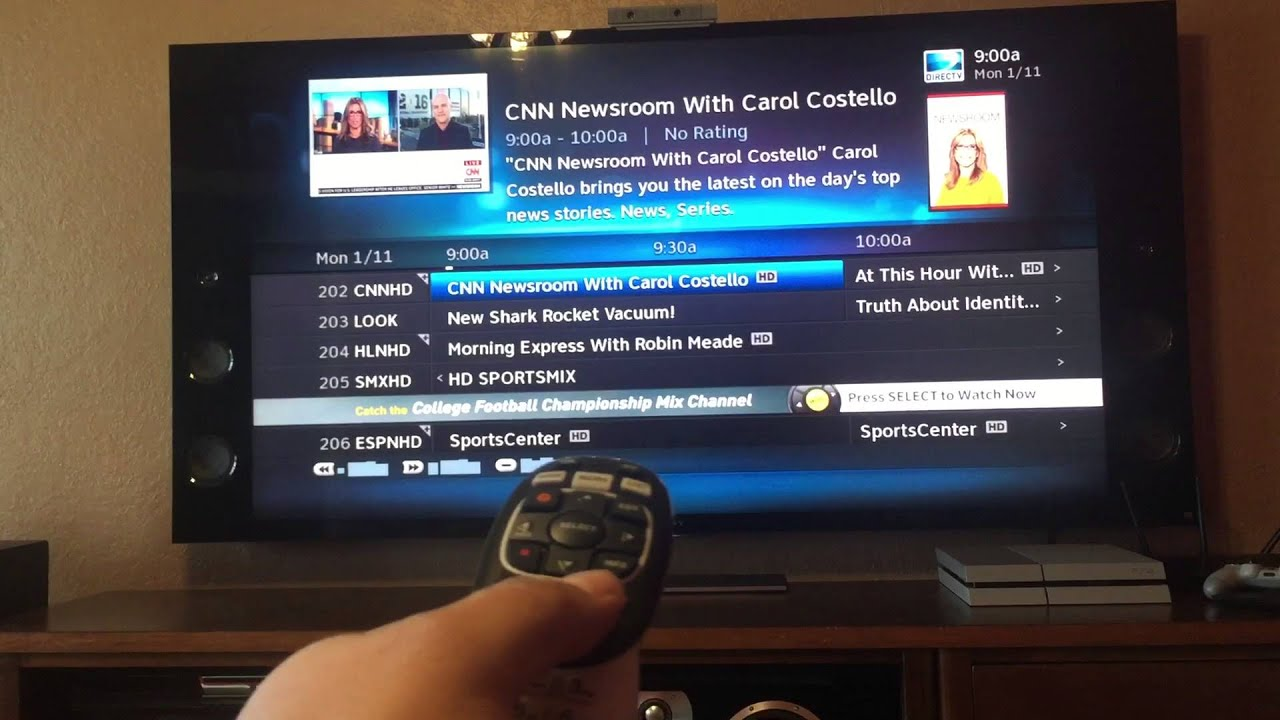 WHAT CHANNEL IS CNN ON DIRECTV 2012