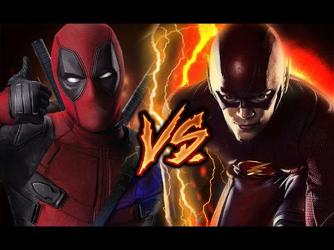 DEADPOOL VS FLASH RAP | BATALLA DE HEROES | ZARCORT Y KRONNO
