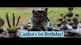 Caiden's Cowboy Birthday Vlog