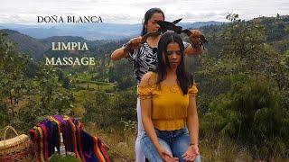 DOÑA ☯ BLANCA, SPIRITUAL CLEANSING WITH TOBACCO SMOKE, LIMPIA MASSAGE, RUHSAL TEMİZLİK, CUENCA ASMR