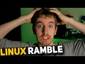 Alternatives are NOT Replacements! - Operating System Philosophies & Linux Ramble