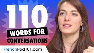 110 French Words For Daily Life Conversations